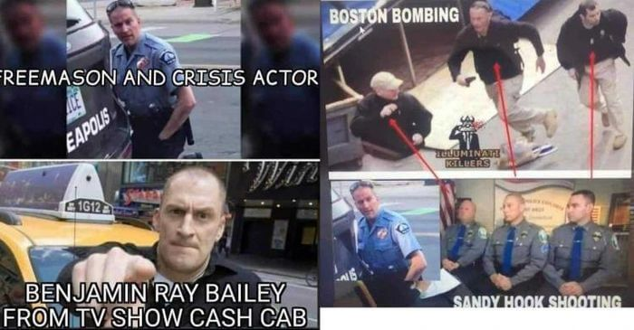 Suspected Crisis Actor